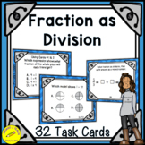 Fractions as Division - 5th Grade Fractions 5.NF.3
