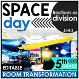 Fractions as Division | 5th Grade Space Classroom Transformation