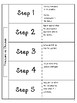 Fractions as Division Differentiated Interactive Notes