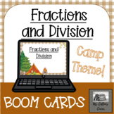 Fractions as Division - Distance Learning - Interactive, D