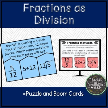 Fractions as Division Puzzle