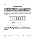 Fractions as Division Word Problems