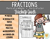 Introduction to Fractions: Parts of a Whole AND Parts of a Set