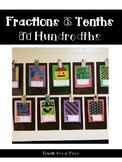 Fractions as Tenths and Hundredths
