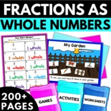 Fractions as Whole Numbers
