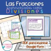 Tarjetas Fracciones como División  5.nf.3