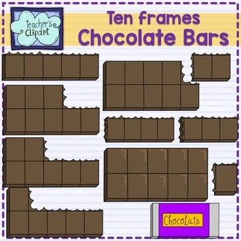 Chocolate bar {Ten Frames}
