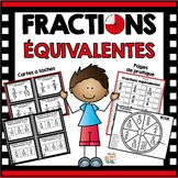 Fractions équivalentes    -    French equivalent fractions