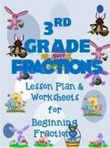 Fractions for 3rd Grade-Easter