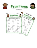 Fractions for 3rd Graders (Easy Grading Answer Key Included)