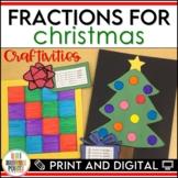 Fractions for Christmas - Christmas Math Craftivities