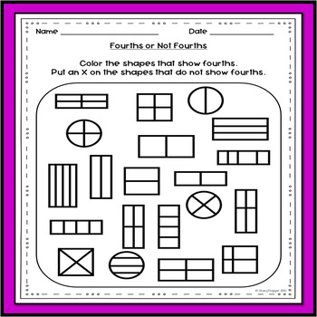 Fractions for First Grade