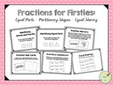 Fractions for Firsties:  Equal Parts, Partitioning Shapes, and Equal Sharing