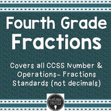 Fractions for Fourth Grade- Student Activity Book for all