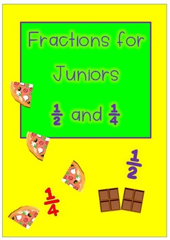 Fractions for Juniors – half and quarter