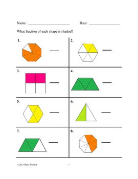 Fractions for Third Grade