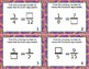 Fractions: identify/equivalent/whole/mixed/compare/word Task Cards *EDITABLE*