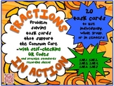 QR - Fractions in Action - Common Core Fractions Problem-S