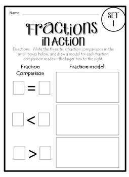 Fractions in Action: TEKS 4.3D