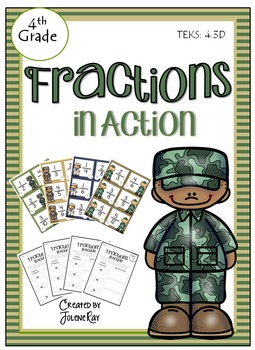 Fractions in Action: TEKS 4.3D