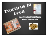 Fractions in Food Recipe Book - Multiplying and Dividing Fractions