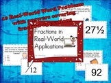 Fractions in Real-World Applications Activity