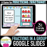 Fractions in a Group - Google Slides Activity - Distance Learning