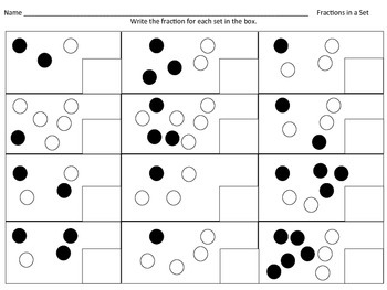 Fractions in a Set