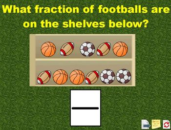 Fractions in a Set Flipchart Activities