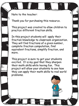 Fractions in the Classroom