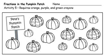 Fractions in the Pumpkin Patch