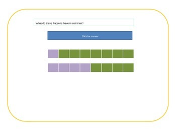 Fractions interactive presentation