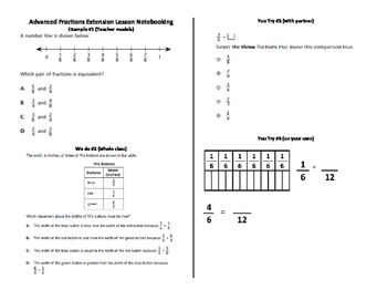 Fractions multi-step problems