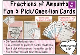 Fractions of Amounts (Fan and Pick Cooperative Learning Cards)