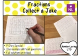Fractions of Amounts Pi Day Special (Collect a Joke)