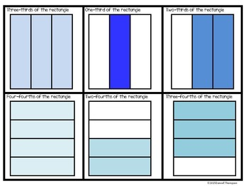 Fractions: Shapes (Circles, Rectangles, Squares, and Triangles)