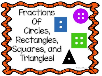 Fractions (Circles, Rectangles, Squares, and Triangles)
