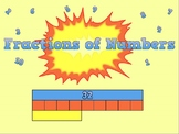 Fractions of Numbers (5 Day Unit of Work + Mini-Assessment