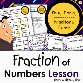 #augusthalfoff Risky Money! Fraction of Numbers Game - Financial Literacy