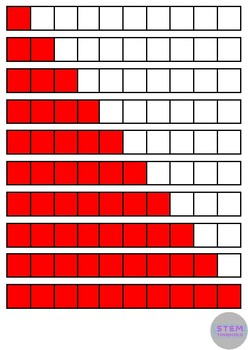 Fractions Math Clip Art for Centers, Task Cards, File Folders