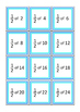 Fractions of Numbers, Flash Cards, Autism, Special Education