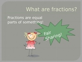 Fractions of Whole Numbers - Simple Introduction