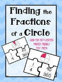 FRACTIONS and DEGREES of a Circle