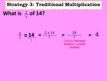 Fractions of a Group - 2 day PowerPoint lesson