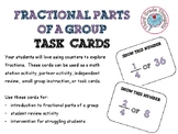 Fractions of a Group - Halves, Thirds, Fourths, Fifths