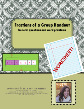Fractions of a Group Handout (groups divisible by denominators)
