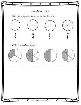 Fractions of a Group and Whole Test