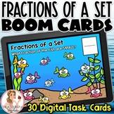 Fractions of a Set BOOM Cards | Digital Task Cards