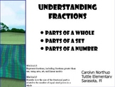 Fractions of a Set, Fractions of a Whole, Fractions of a N
