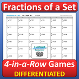 Fractions of a Set Games